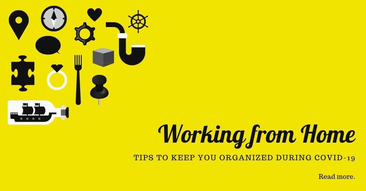 WEBSITE DEPOT NEWSLETTER BLOG - WORKING FROM HOME TIPS